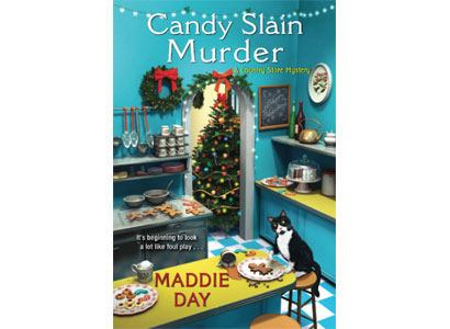 December's Mystery Book Club – Candy Slain Murder