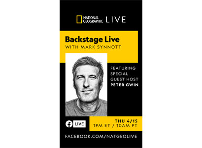 National Geographic Backstage Live with Mark Synnott